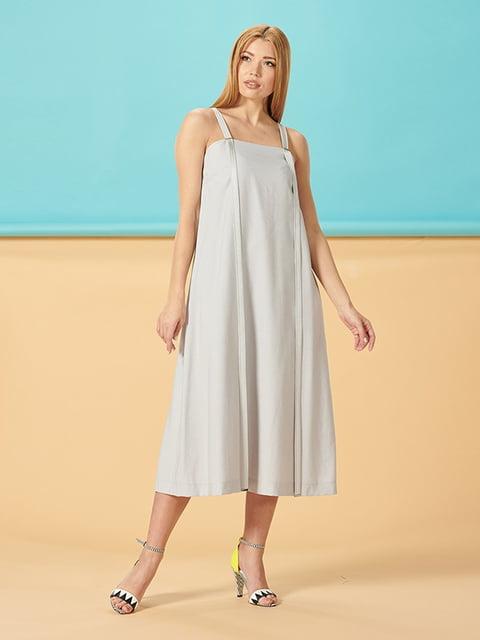 Платье серое Lesya 5115983