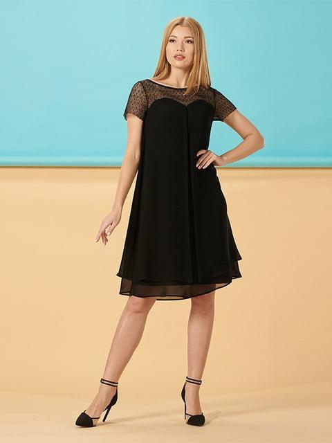 Платье черное Lesya 5116006