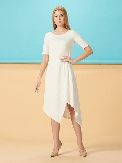 Платье молочного цвета Lesya 5116018