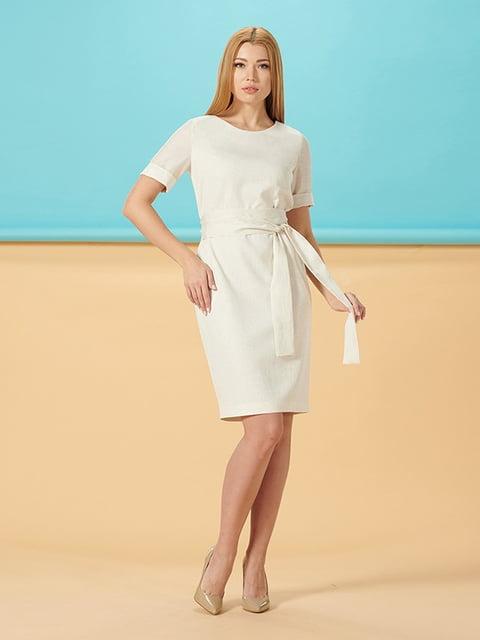 Платье молочного цвета Lesya 5116019