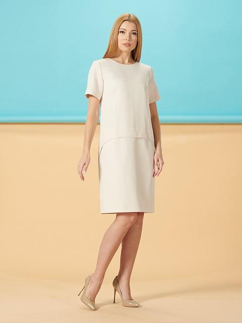 Платье молочного цвета Lesya 5116025