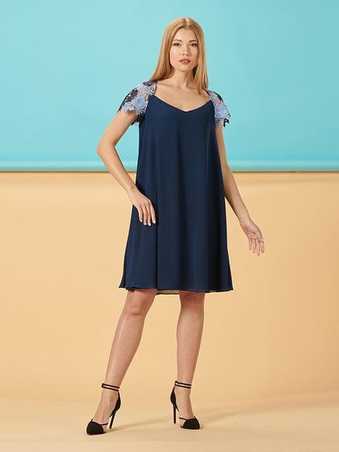 Платье синее Lesya 5116027