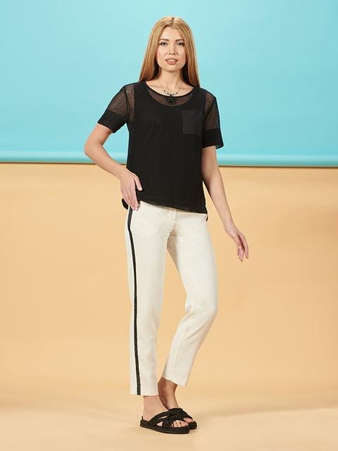 Блуза чорна Lesya 5116088