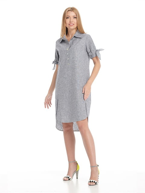 Платье серое Lesya 5139578