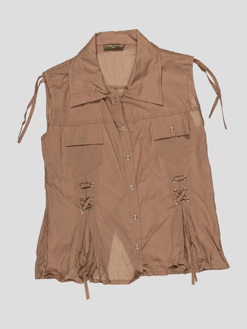 Блуза коричнева CHELA 3168542