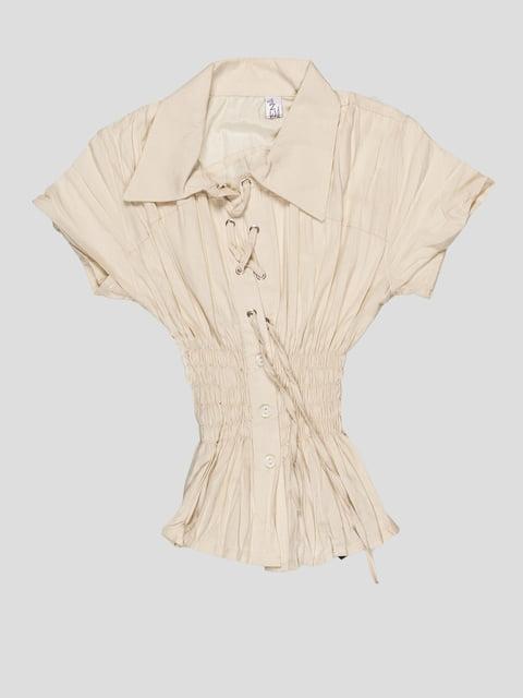Блуза бежева Vivien 4404148