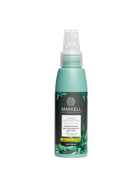 Био-дезодорант минеральный для тела «Алоэ вера» (100 мл) Markell 4915428