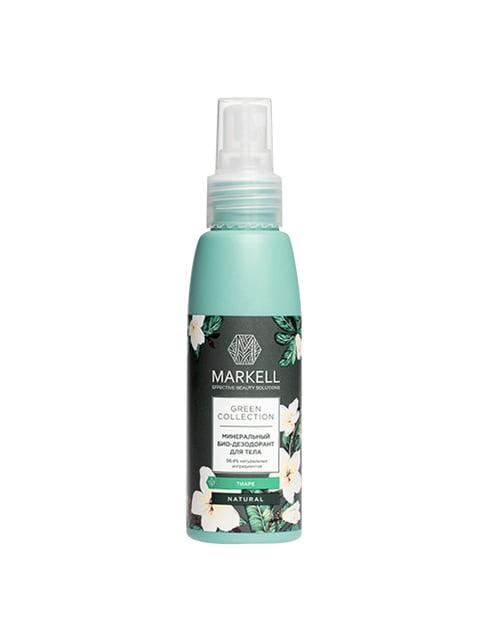 Біо-дезодорант мінеральний для тіла «Тіаре» (100 мл) Markell 4915430