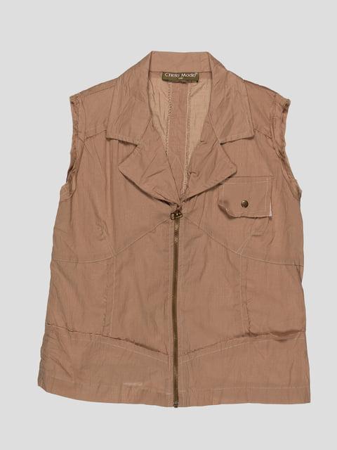 Блуза коричнева CHELA 1590261
