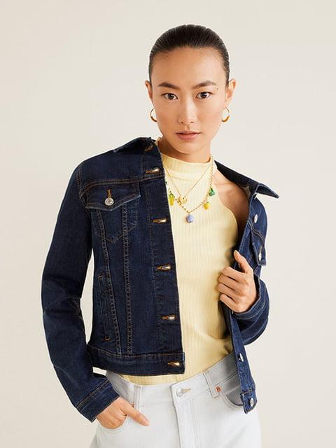 Куртка джинсова синя Mango 5139941