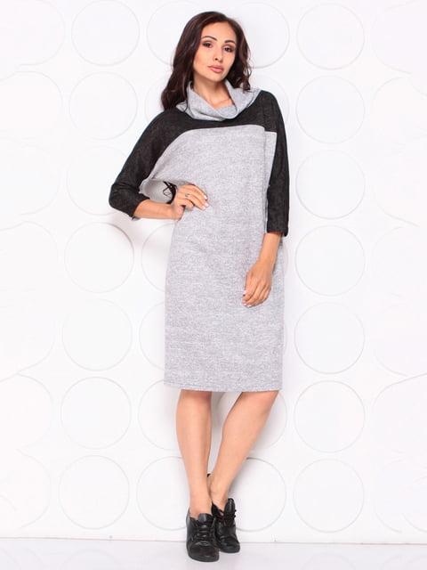 Платье серо-черное Laura Bettini 5140179