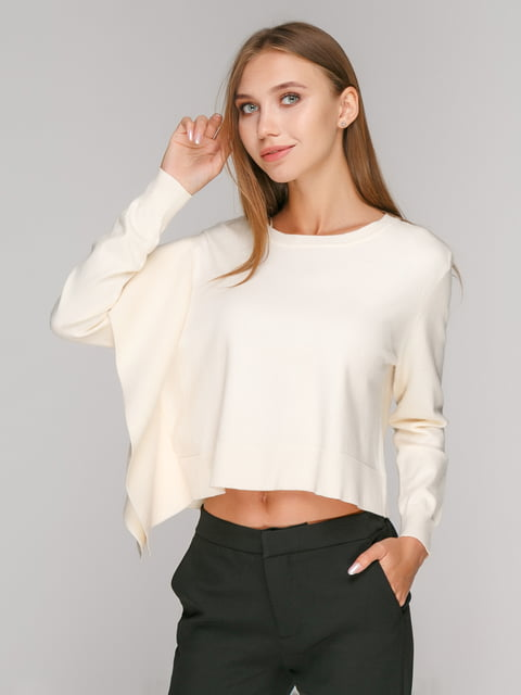 Джемпер кремового кольору Zara 4877290