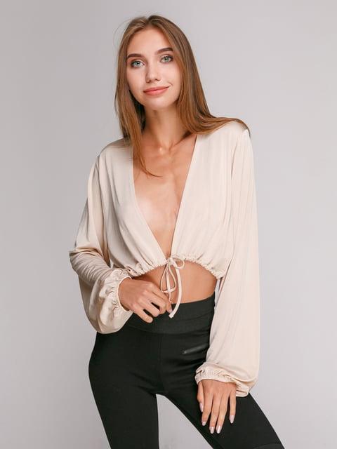 Болеро светло-бежевое Zara 3917152