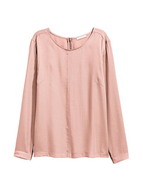 Блуза пудрового цвета H&M 5104584
