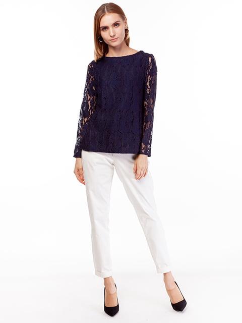 Блуза синяя H&M 5104674