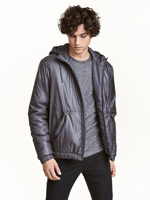 Куртка сіра H&M 5104714