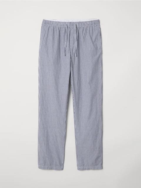 Брюки пижамные голубые H&M 5112684