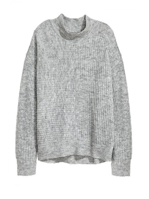 Джемпер серый H&M 5112799