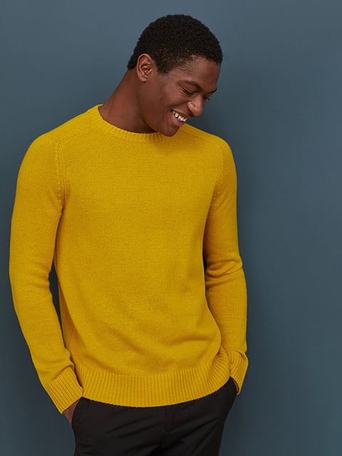 Джемпер желтый H&M 5112830