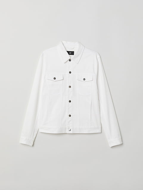 Куртка біла H&M 5112972