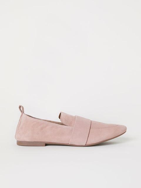 Лофери рожеві H&M 5113029