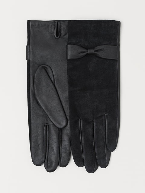 Перчатки черные H&M 5113140
