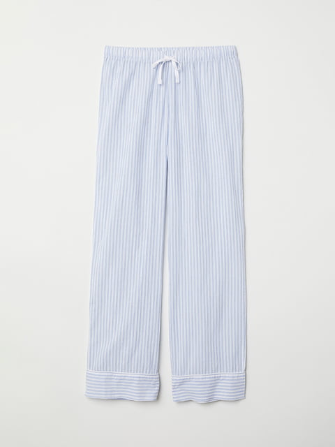Брюки пижамные в полоску H&M 5113168