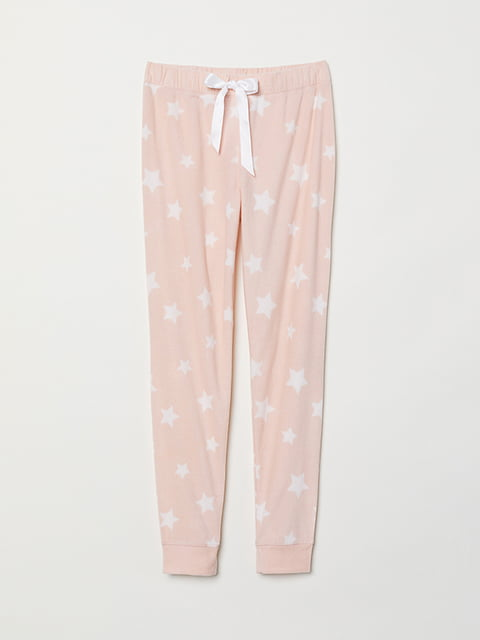 Штани піжамні рожеві H&M 5113463