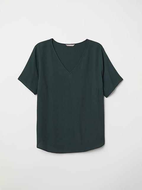 Топ зелений H&M 5136246