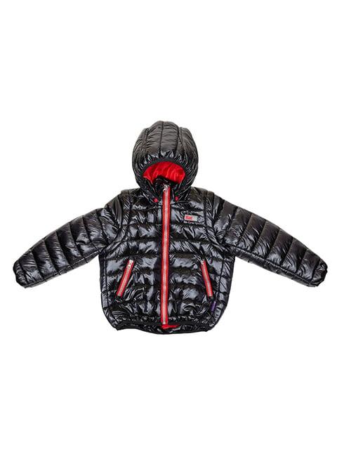 Куртка-трансформер черная Kat 5140554