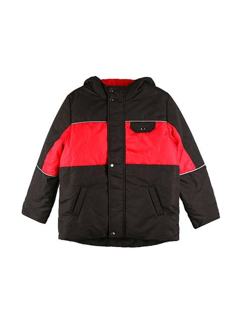 Куртка чорно-червона Kat 5140608