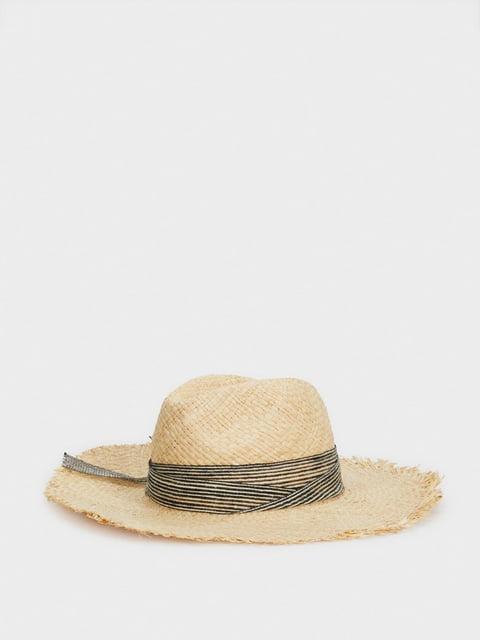 Шляпа бежевая Parfois 5137388