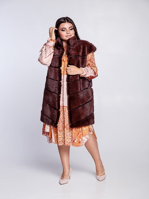 Жилет красный Irbis-furs 5141470