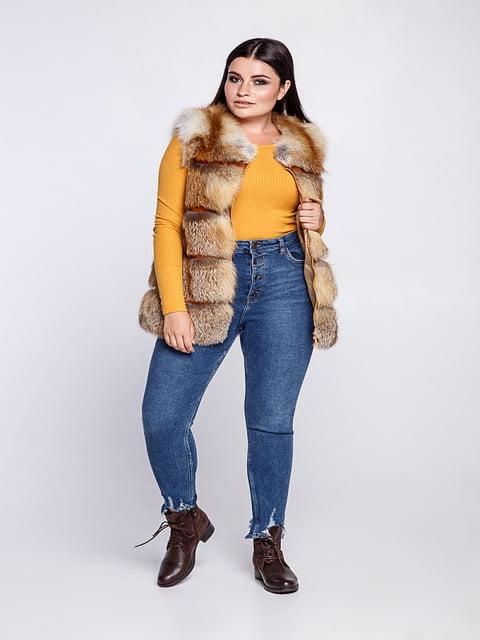 Жилет желтый Irbis-furs 5141472