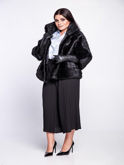 Полушубок черный Irbis-furs 5141501