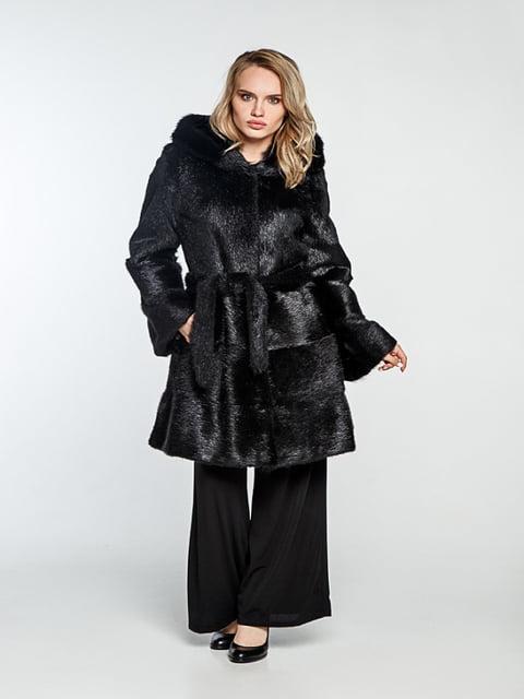 Шуба черная Irbis-furs 5141509