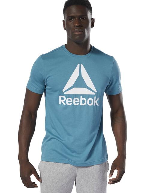 Футболка голубая Reebok 4872649