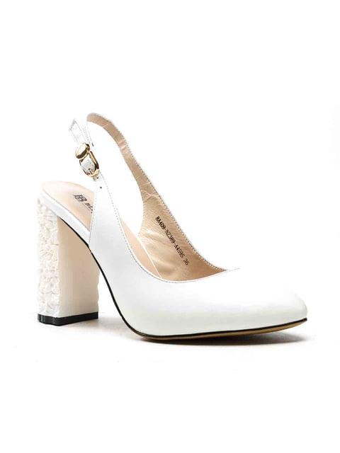 Туфли белые Blizzarini 5128482