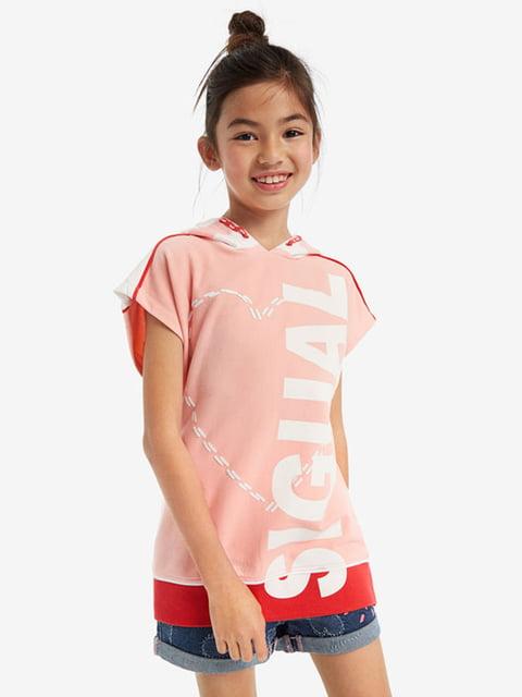 Джемпер рожевий Desigual 5126087