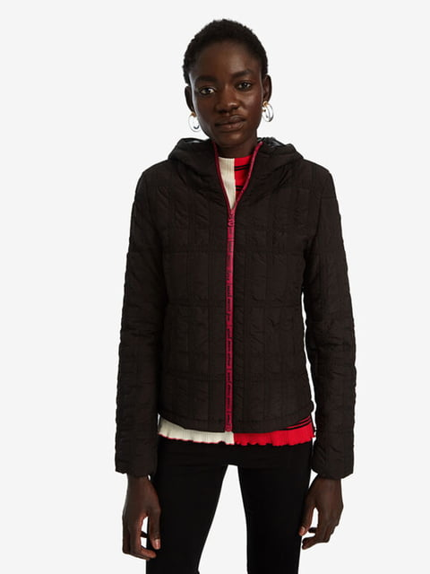Куртка темно-коричнева Desigual 5143169