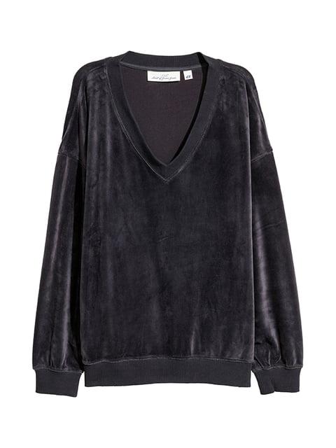 Пуловер темно-серый H&M 5132679