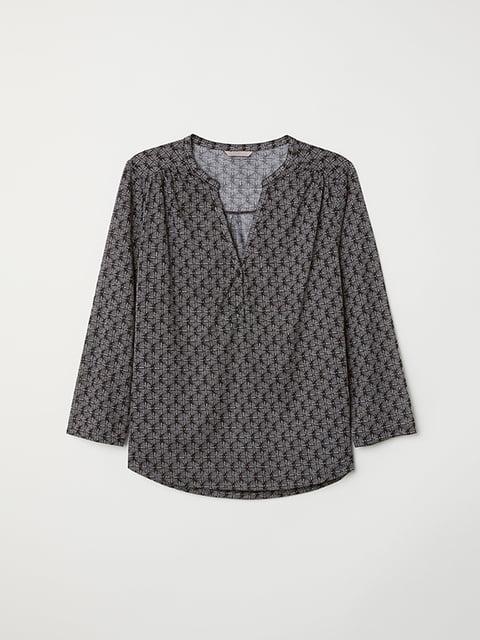 Блуза черная H&M 5133198