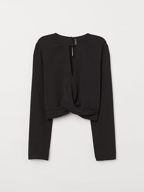 Блуза черная H&M 5133236