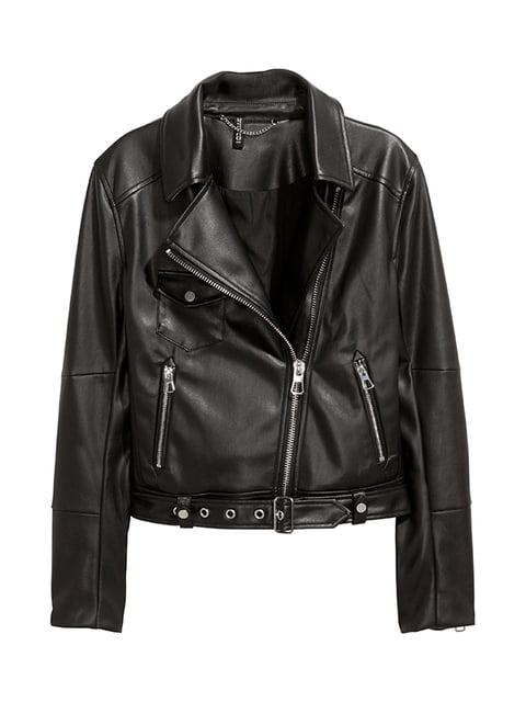 Куртка черная H&M 5133524