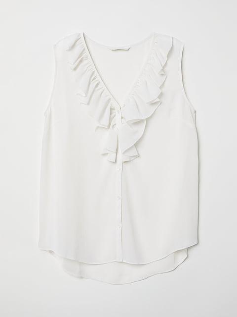Блуза белая H&M 5133565