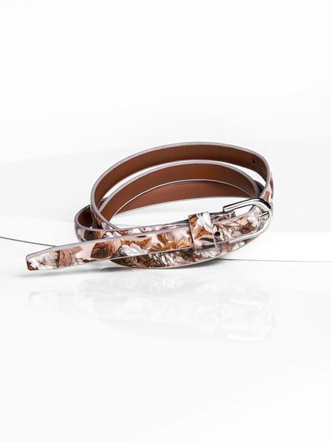 Ремень коричневый Gepur 5143508