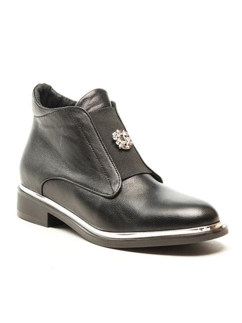 Ботинки черные Fabiani 5142897