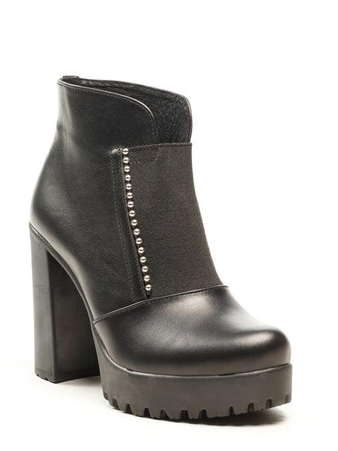 Ботинки черные Fabiani 5142876