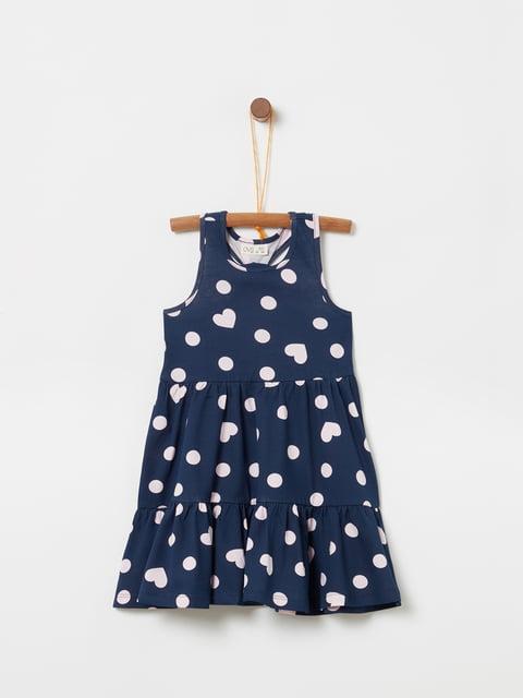 Платье синее Oviesse 5148983