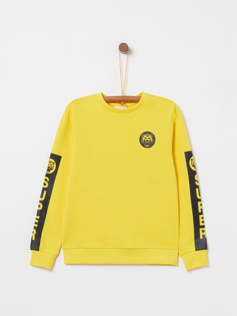 Світшот жовтий Oviesse 5149167